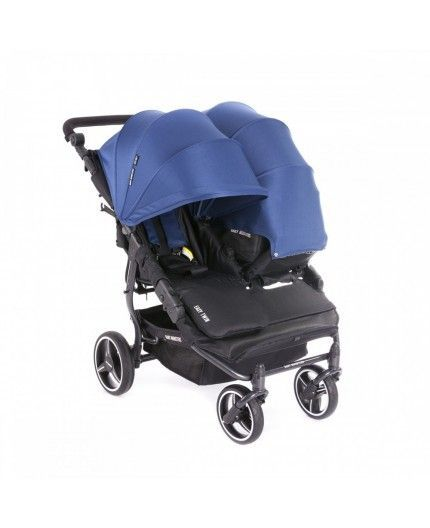 Silla de Paseo Gemelar Baby Monster Easy Twin 3S Chasis Negro