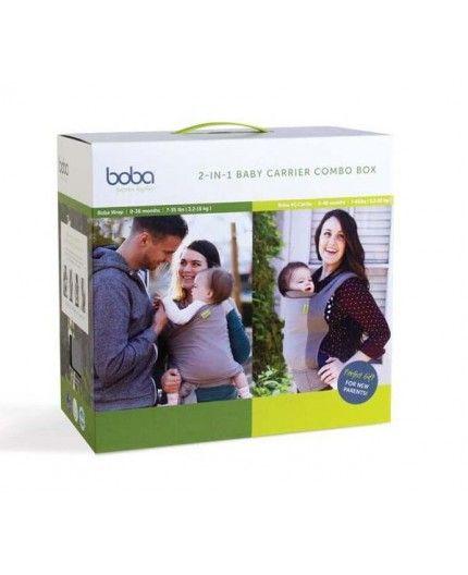 Pack Boba Carrier 2 Combo Box Gray + Dusk