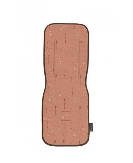 Colchoneta Recta Para Silla de Paseo Pirulos Arrows Naranja