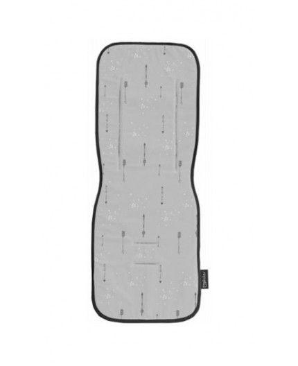 Colchoneta Recta Para Silla de Paseo Pirulos Arrows Gris