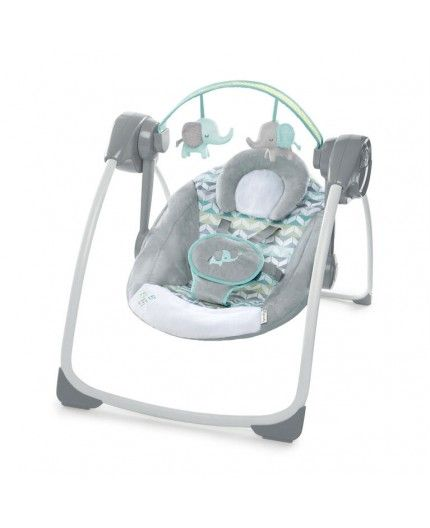 Columpio Ingenuity Comfort 2 Go Portable Swing - Jungle Journey