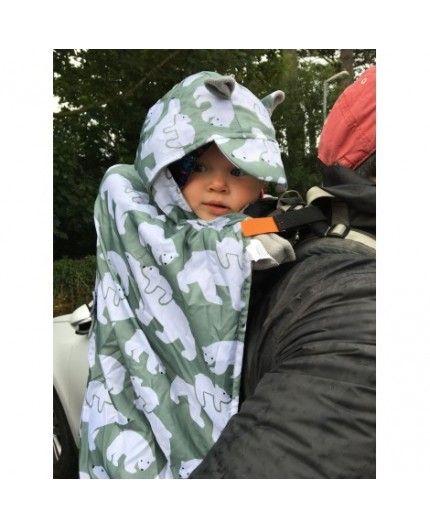 Cobertor De Porteo Polar Bear De BundleBean